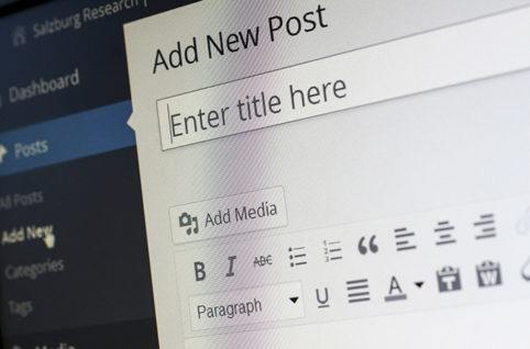 採用サイトを制作するにはWordPressがオススメです。